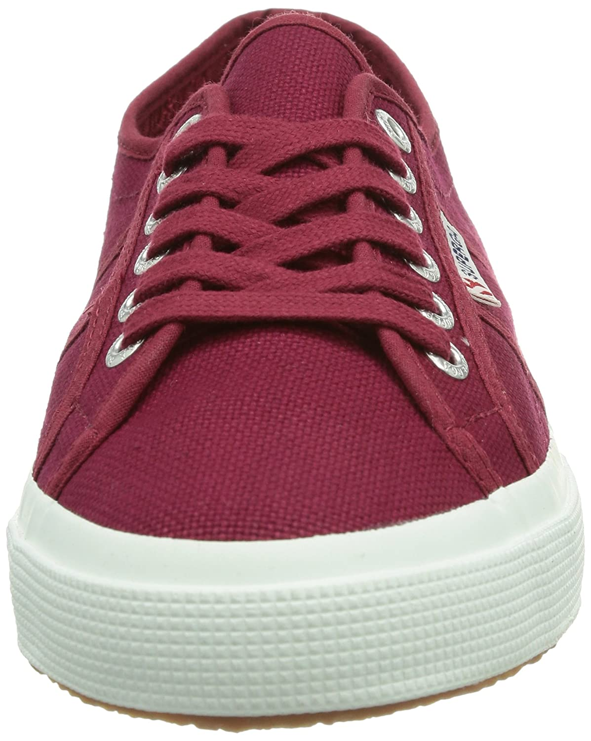 Amazon.com | Superga 2750 Cotu Classic, Unisex Adults Low-Top Sneakers, Red (Scarlet S104), 8.5 UK (42.5 EU) | Fashion Sneakers