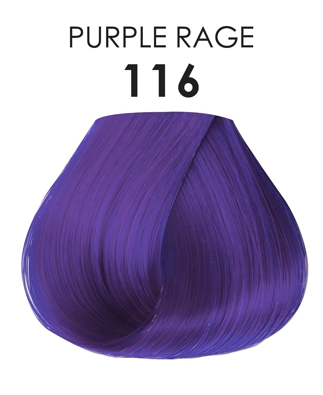 Adore Shining Semi Permanent Hair Colour 116 Purple Rage Amazon