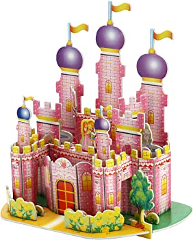 35-Pc. Burei 3D Puzzle Jigsaw Toys Princess Castle