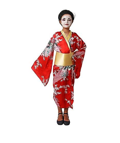 Costumizate! Disfraz de Geisha Talla 5-6 Especial para niños ...