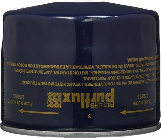Purflux Ls893 Ölfilter Anzahl 1 Auto