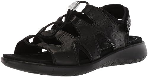 a410518a196f ECCO Women s Women s Soft 5 Toggle Sandal Black 35 M EU (4-4.5 US