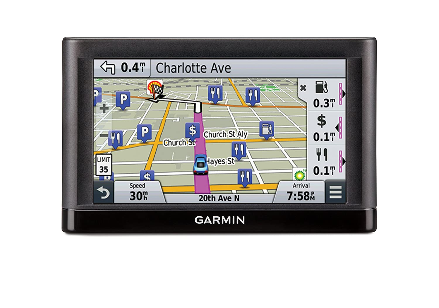 Garmin Navigators Directions Preloaded Displays Image 2