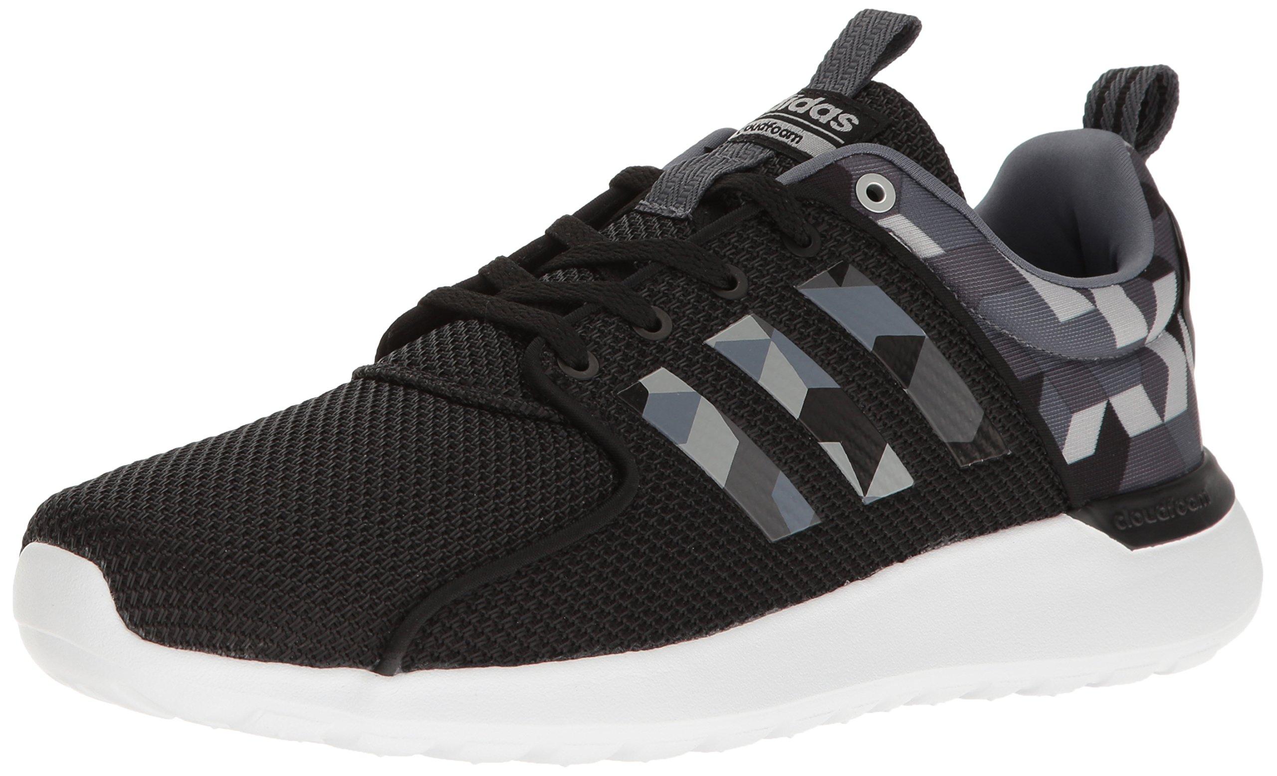 size 40 e9127 5d245 Galleon - Adidas Men s Cloudfoam Lite Racer Running Shoe, Black Onix Solid  Grey, 9.5 D-Medium