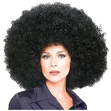 Amazon.com: Super Afro Peluca Disfraz Accesorio: Clothing