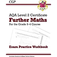 New Grade 9-4 AQA Level 2 Certificate: Further Maths - Exam Practice Workbook (with Ans & Online Ed)