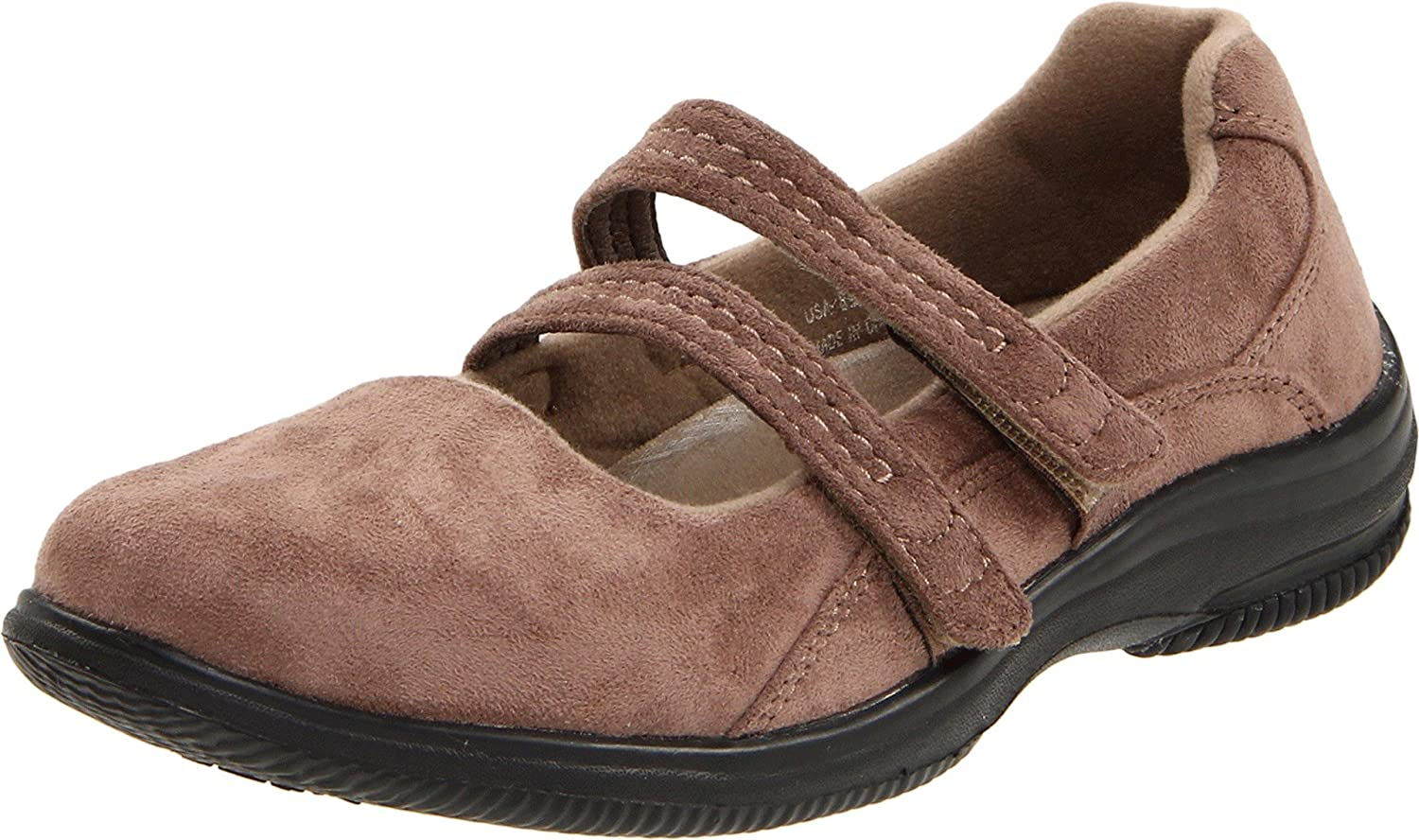 Propet Balance Women's Bilite Walker Mary Jane B00595C5HC 5.5 M (B) US|Taupe Velour