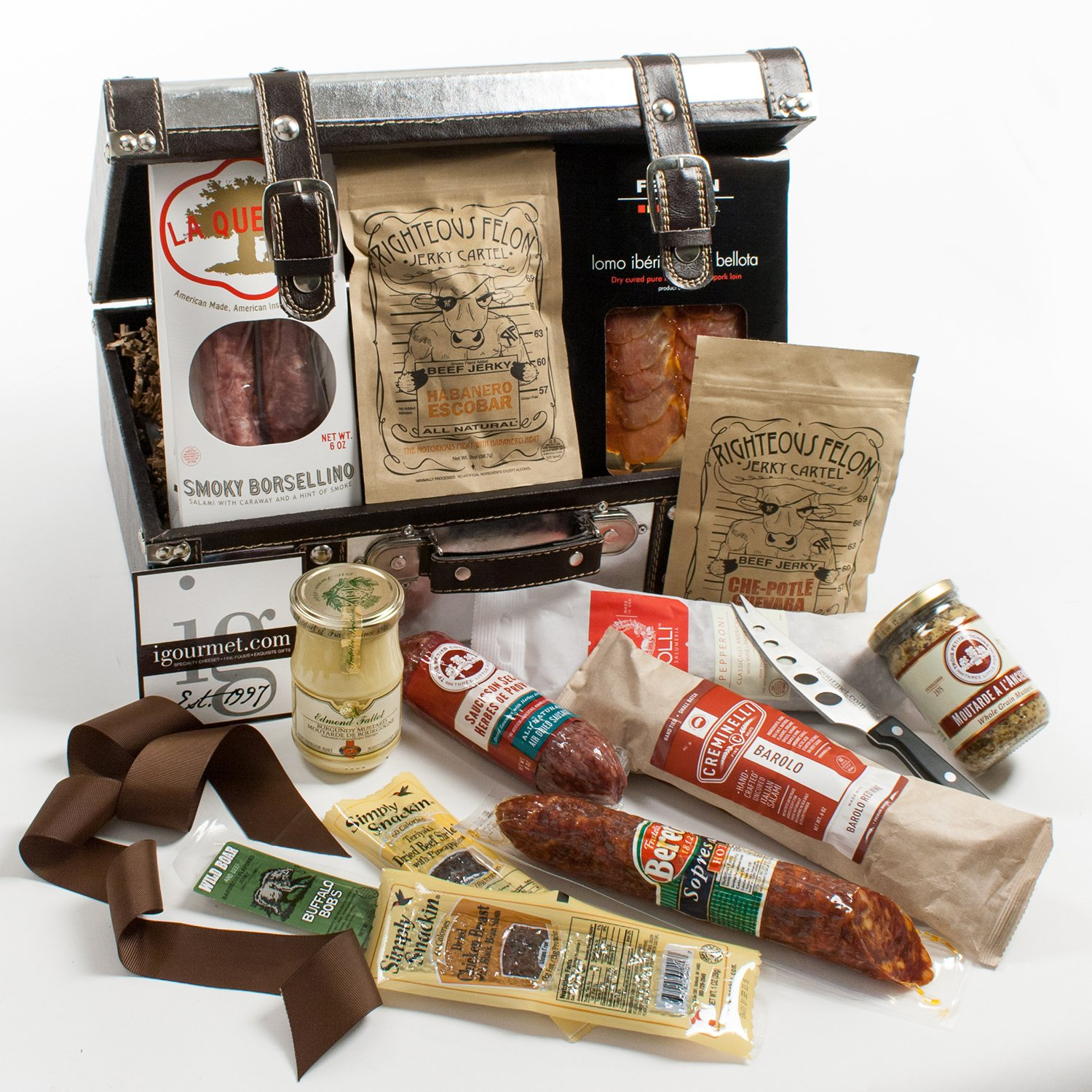 KaBloom Gift Basket Collection: A Meat lover's Gourmet Gift Case
