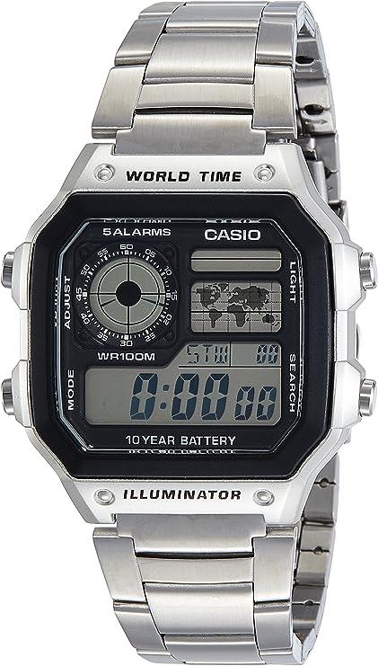 [カシオスタンダード] 腕時計 AE-1200WHD-1A メンズ 逆輸入品 [並行輸入品]