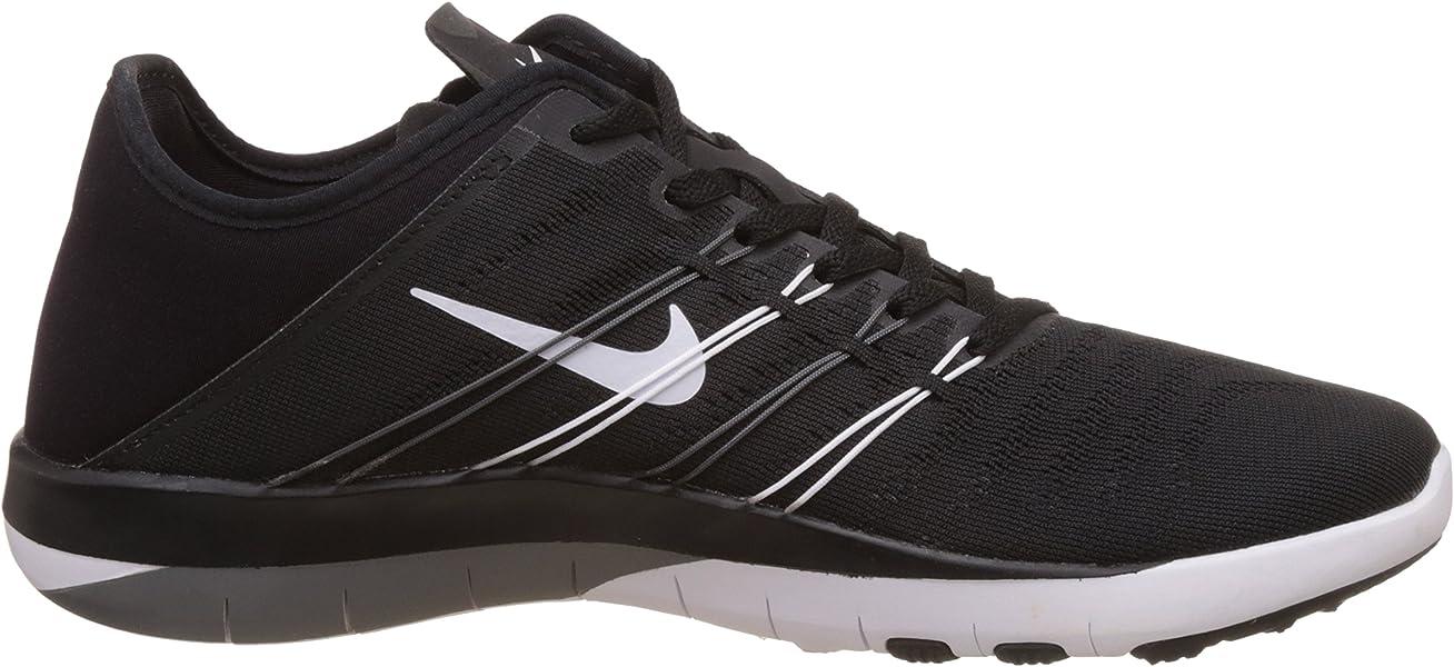 991c879ef5e92 Nike Damen Free Trainer 6 Hallenschuhe Schwarz (Black White-Cool Grey) 38.5