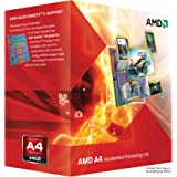 AMD A4 X2 3300 Microprocesador, 2.5 GHz, cache L2 1 Mb