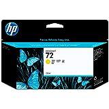 HP 72 Cartouche d'encre d'origine Jaune Vivera 130 ml
