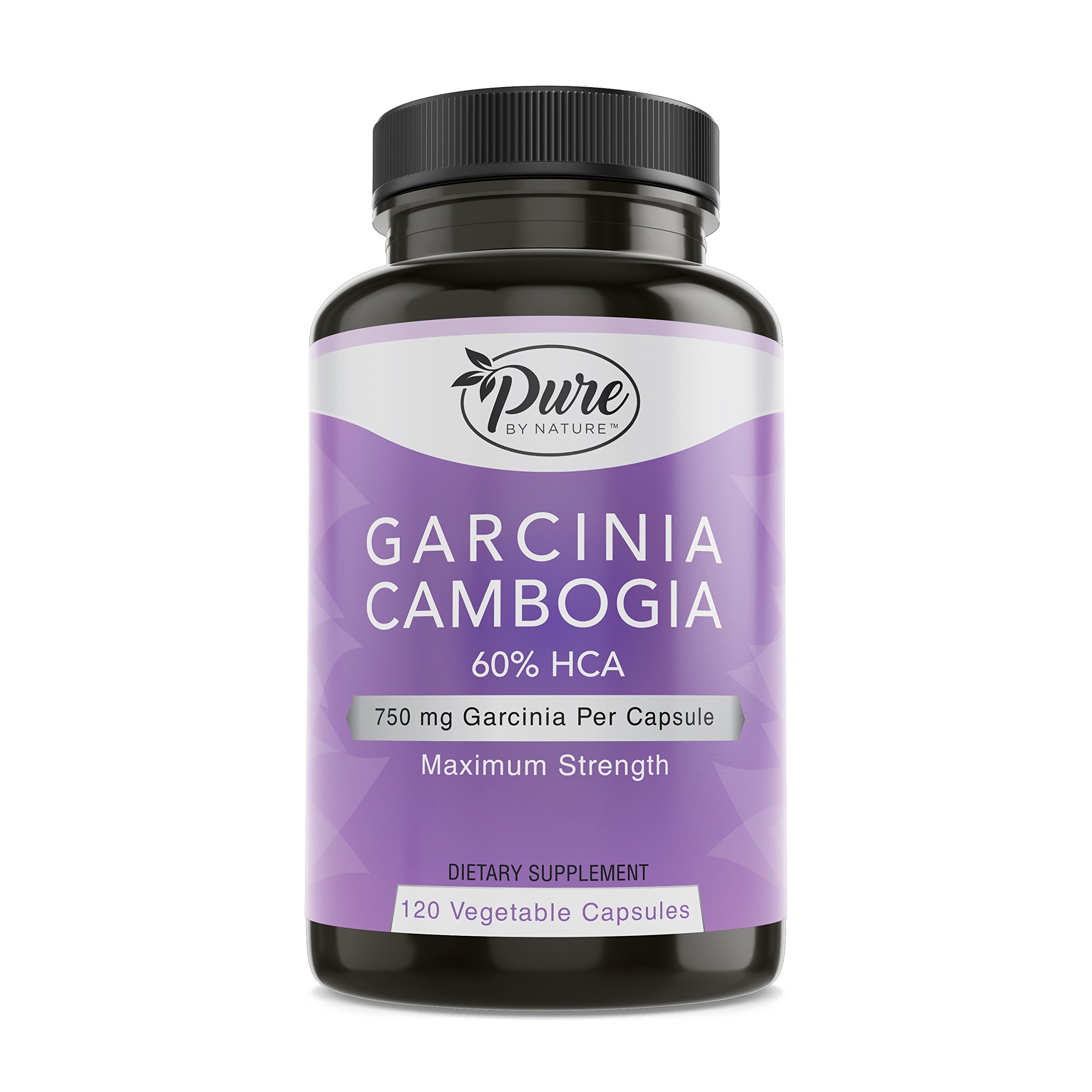 Pure By Nature 100% Garcinia Cambogia with 60% HCA, 120 Count