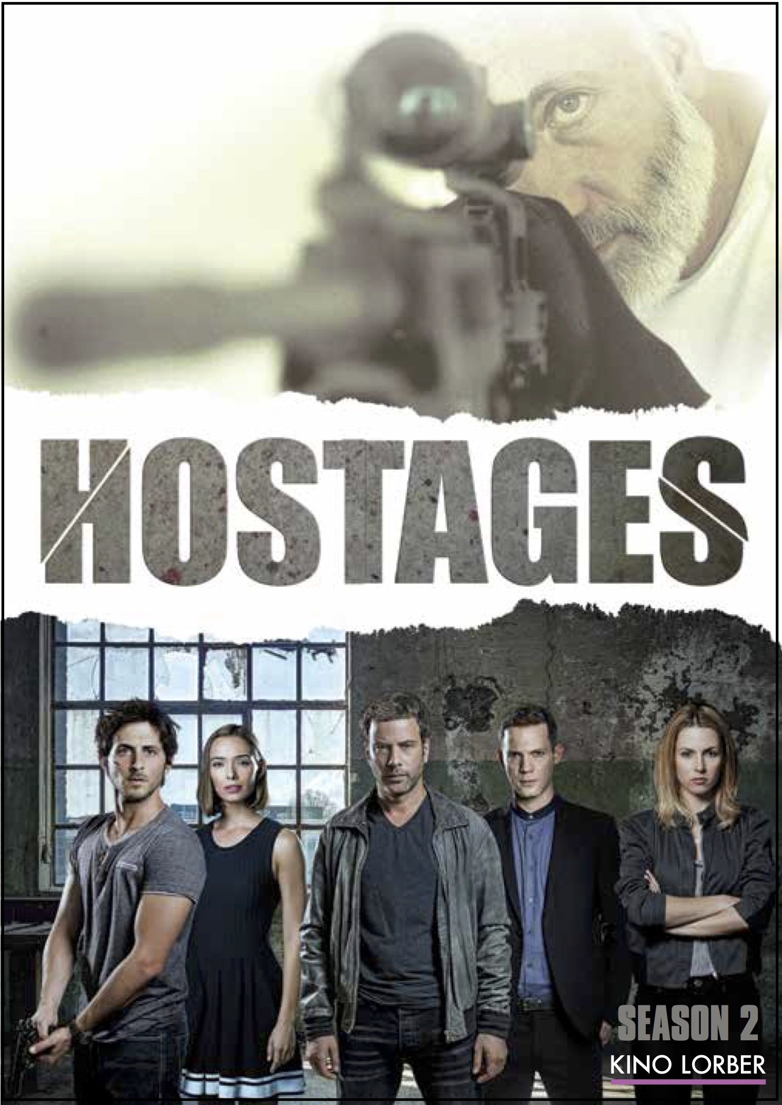 DVD : Hostages S2 (3 Pack, 3PC)