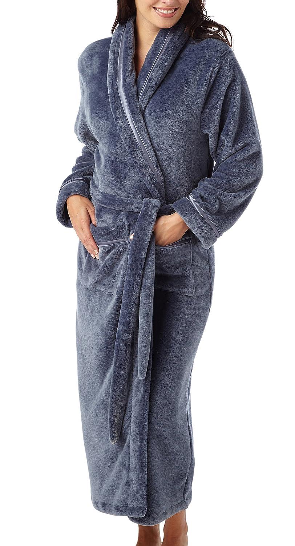 i-Smalls - Vestaglia da donna, lunga, invernale, morbidissima e calda HC1873-IS01622