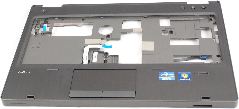 HP Probook 6360b Laptop Palmrest Touchpad With Finger Print Reader 639485-001