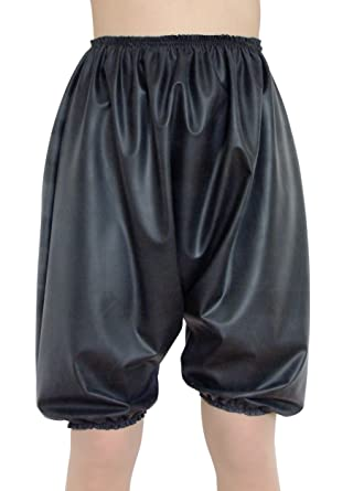 Rubber Pants Panties Knickers Bloomers In Black Rubber Latex