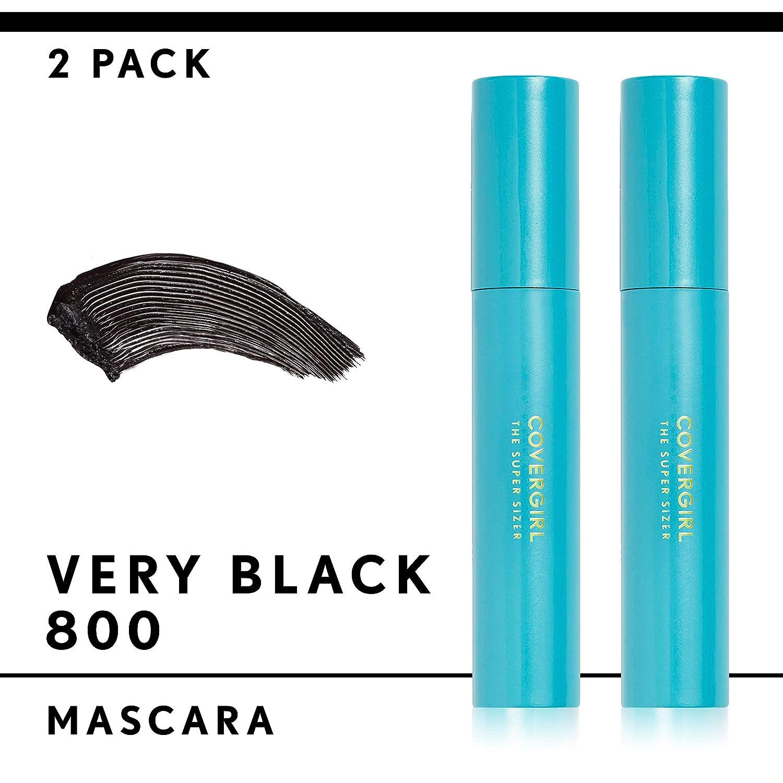 1d9d1ca06fb Amazon.com : COVERGIRL Super Sizer by LashBlast Mascara Very Black .4 fl oz  (12 ml) (Packaging may vary) : Beauty