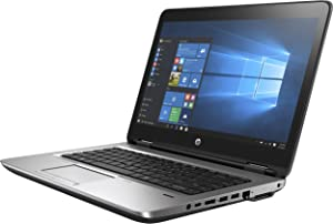"HP ProBook 640 Business Laptop - 14"" Anti-Glare (1366x768), Intel Core i5-7200U, 8GB DDR4, 500GB HDD, Type-C, DVD, Backlit, Windows 10 Pro - Include HP Docking Station + Bag"