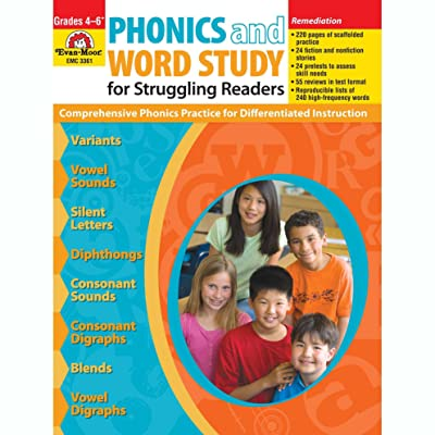 Evan-Moor EMC3361 Phonics and Word Study for Struggling Readers Book: Industrial & Scientific