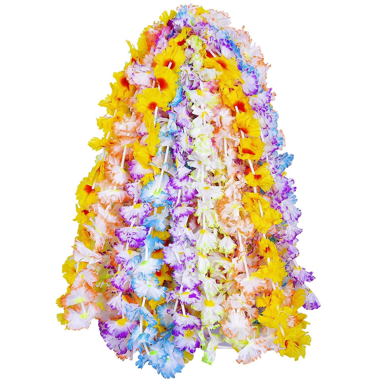 12 x hawaiian leis hula aloha hawaii hen stag flower garland party 12 x hawaiian leis hula aloha hawaii hen stag flower garland party redstar izmirmasajfo