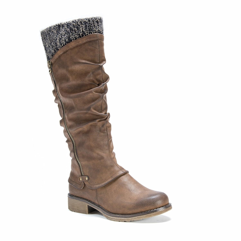 MUK LUKS Women's Bianca Fashion Boot B01LVTHUNB 10 B(M) US|Brown