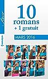 10 romans Azur + 1 gratuit (nº3685 à 3694)