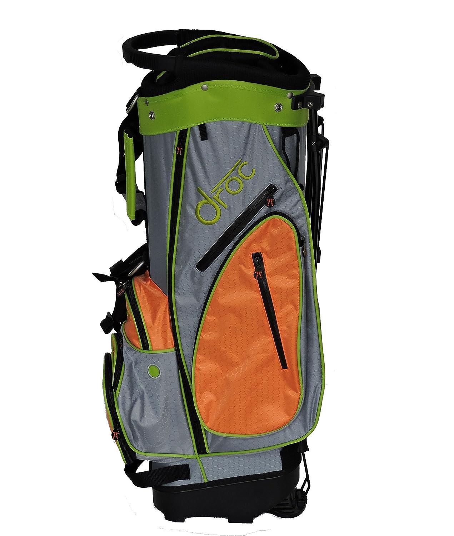 DROC – Dimondゴルフバッグ年齢10 – 14 (オレンジ_ライム、30インチ)