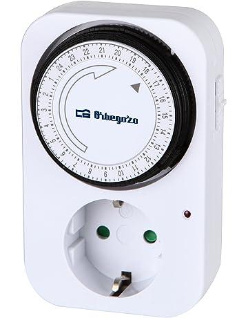 Orbegozo PG 02 - Programador eléctrico analógico, temporizador 24 horas