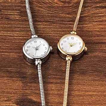 LKTGBRCVZJU Relojes Marea Pulsera Serie Serpiente Hueso Pulsera Reloj Mujer Reloj de Cuarzo Moda Tendencia Impermeable Reloj de Moda, Plata: Amazon.es: ...