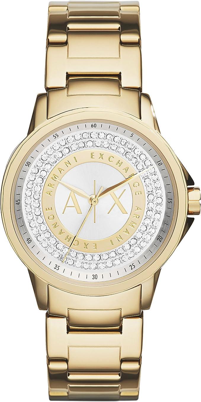 ejemplo de reloj para dama armani