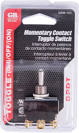 DPST momentaneo 2 Pole grandi Push Button Switch