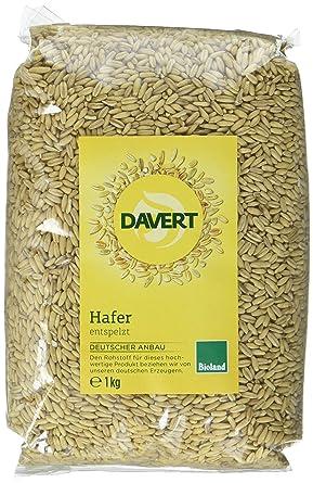 Top Davert Hafer entspelzt, 4er Pack (4 x 1 kg) - Bio: Amazon.de #BI_56