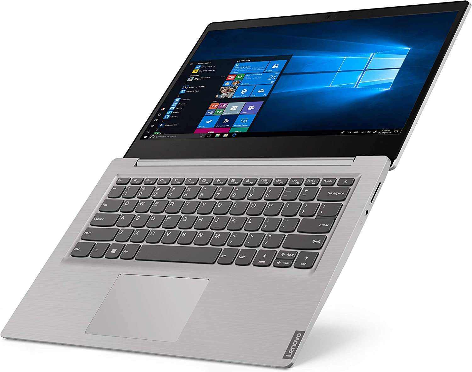 Lenovo Ideapad 14inch Laptop, Intel Pentium Gold 5405U Dual Core 2.3GHz Processor, 4GB RAM, 128GB SSD Storage, Intel UHD Graphics, WiFi, Bluetooth, HDMI, Windows 10 (Renewed)
