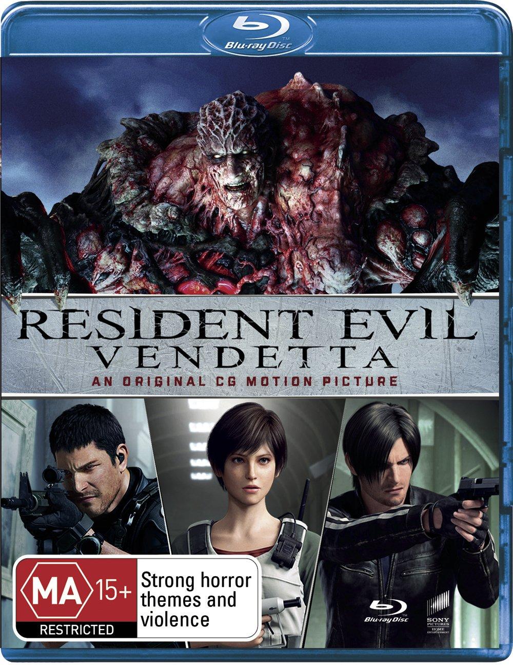 Resident Evil: Vendetta Edizione: Australia Italia Blu-ray: Amazon.es: Cine y Series TV