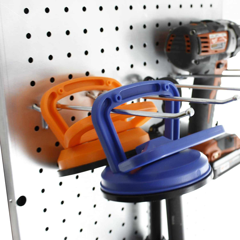 Presa - Ganchos para estantería (metal), 409-50: Amazon.es: Bricolaje y herramientas
