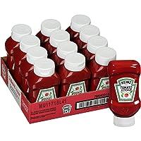 Deals on 12 Pack Heinz Ketchup Forever Full Inverted Bottle 20oz