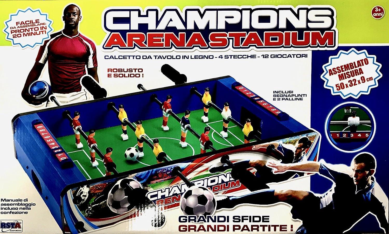 RSTA rstoys 8952 – Futbolín de Mesa de Madera: Amazon.es: Juguetes y juegos