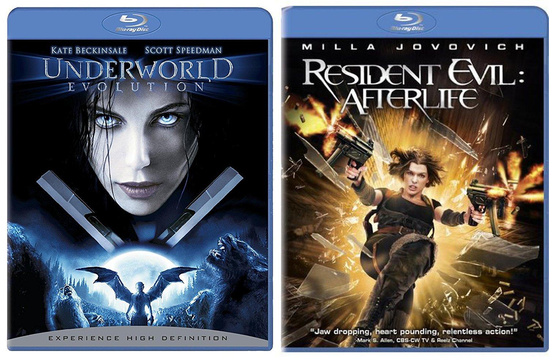 Amazon Com Resident Evil Afterlife Underworld Evolution Blu
