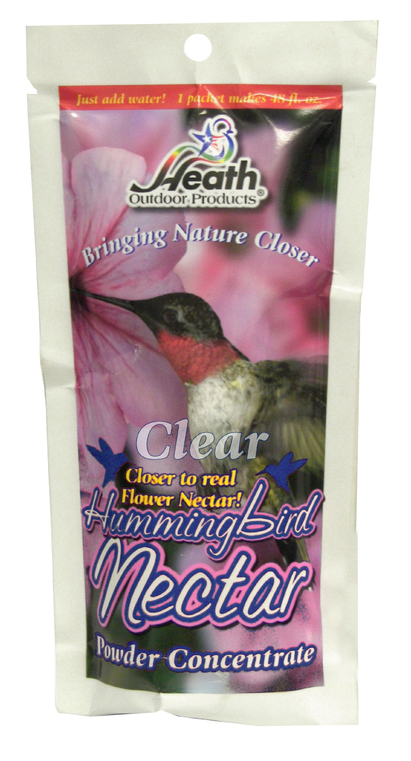 Heath Outdoor Products NECPC-8 8-Ounce Clear Nectar Powder, 12-Pack