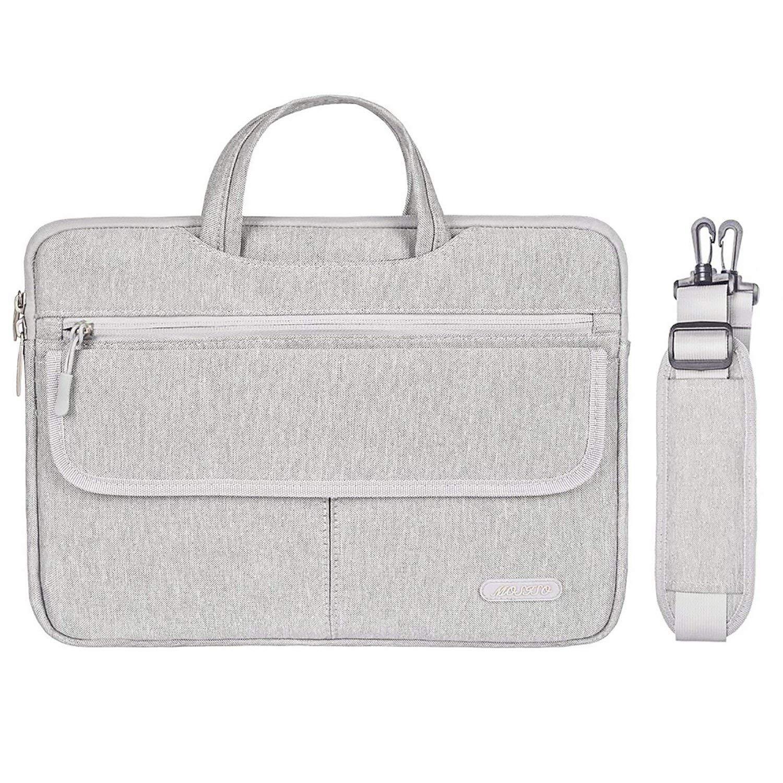 MOSISO Laptop Shoulder Bag Compatible 13-13.3 Inch