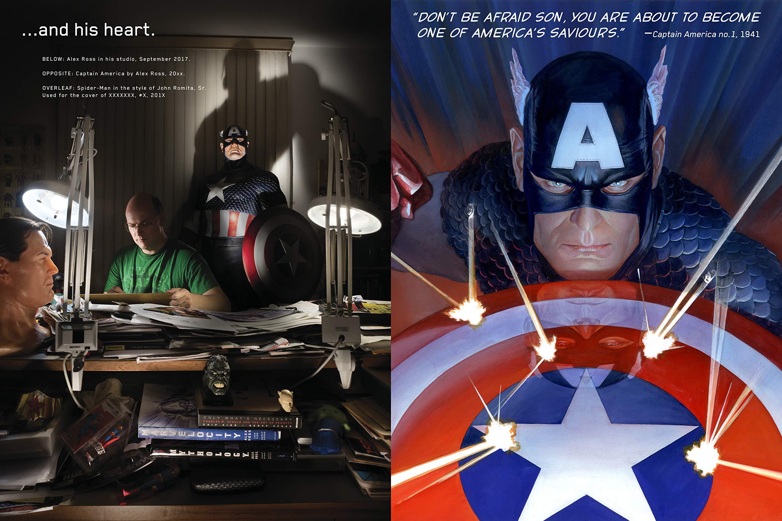 Marvelocity: The Marvel Comics Art of Alex Ross: 9781789090697