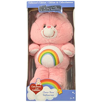 "Care Bears Classic 13"" Cheer Plush, Pink: Toys & Games"