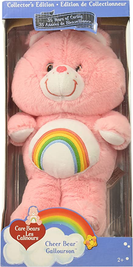 Message Recorder Stuffed Animals, Amazon Com Care Bears Classic 13 Cheer Plush Pink Toys Games
