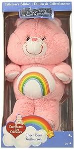 "Care Bears Classic 13"" Cheer Plush, Pink"