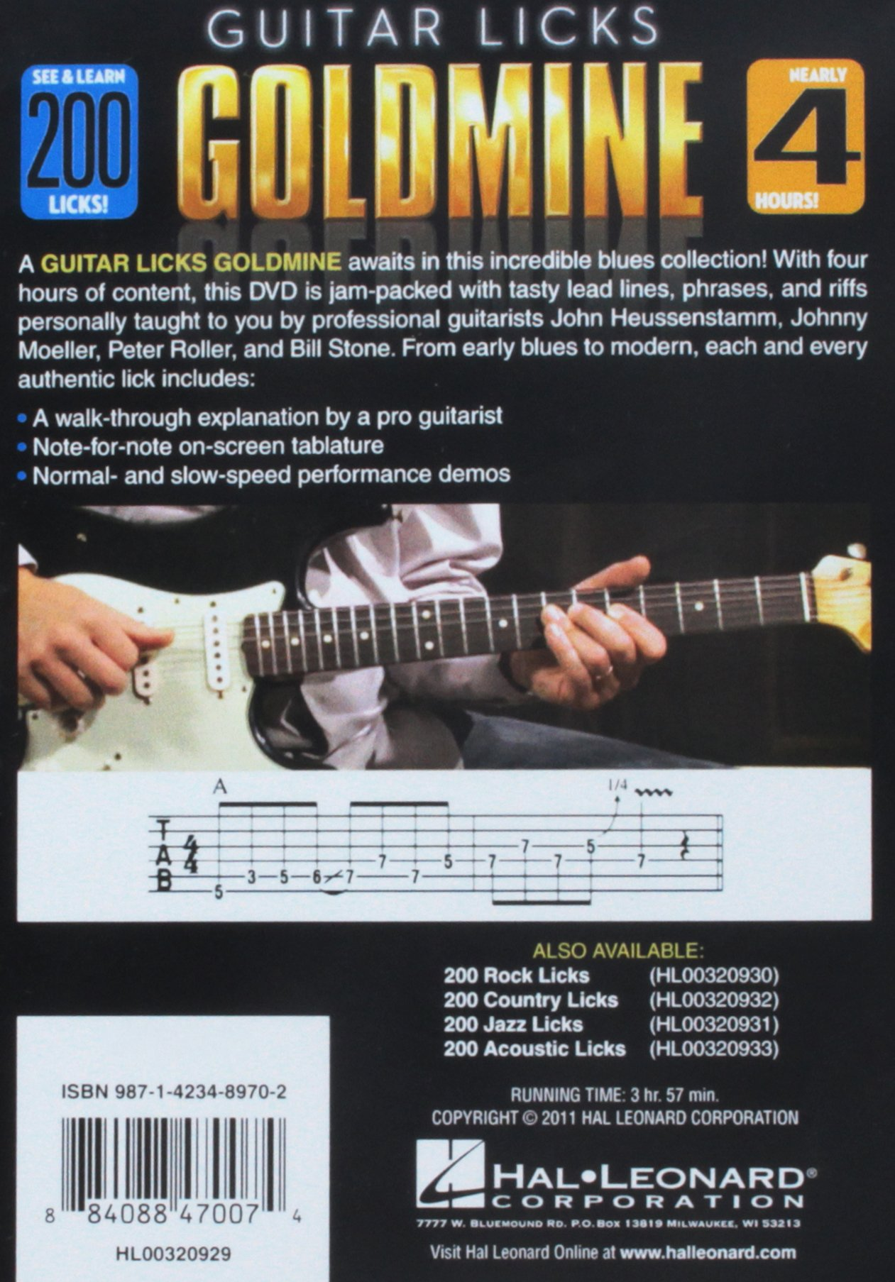 200 Blues Licks - Guitar Licks Goldmine: Hal Leonard: 9781423489702:  Amazon.com: Books