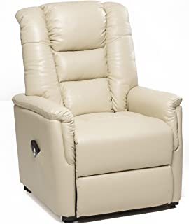 The Bradfield Riser Recliner Chair in Faux Leather (PU). Single Motor easy  sc 1 st  Amazon UK & WINDSOR ELECRTIC RISE RECLINER LEATHER ARMCHAIR SOFA HOME LOUNGE ... islam-shia.org