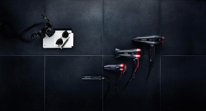 Grundig gmk8610 HD 2509 R Grundig de deporte y viaje secador de 1500 W, voltaje de mango plegable, ajuste: Amazon.es: Salud y cuidado personal