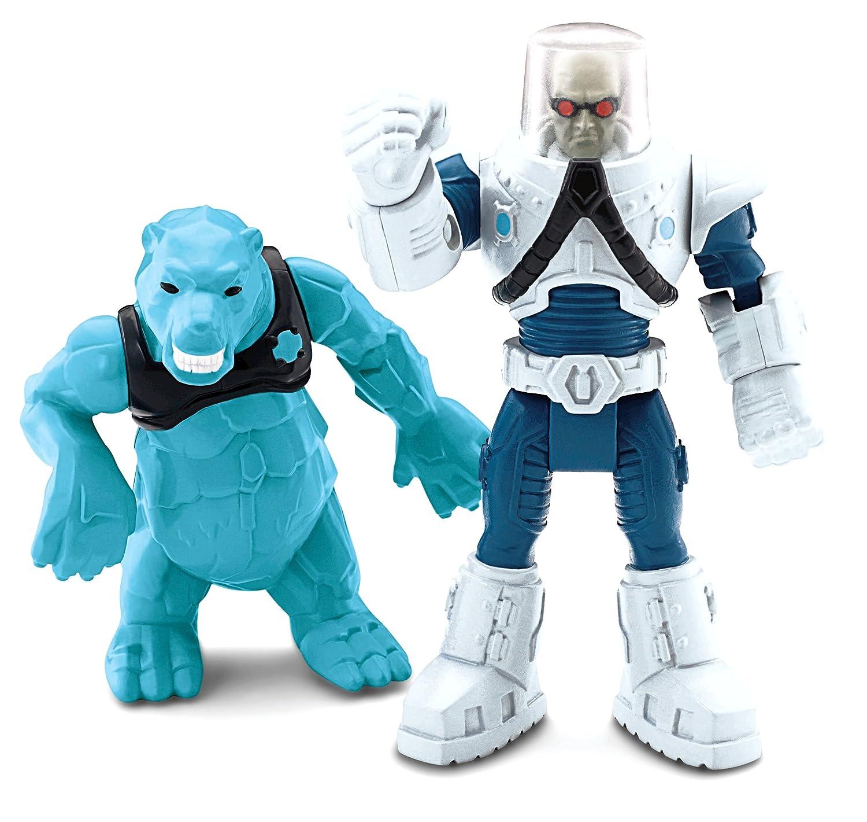 Amazon.com: Fisher-Price Hero World DC Super Friends Mr. Freeze ...