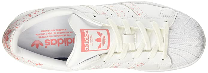 Amazon.com | adidas Womens Superstar W, FOOTWEAR WHITE/TACROS, 5.5 US | Fashion Sneakers